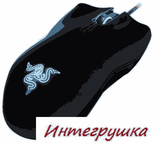 Игровая мышь Razer Lachesis  обновленная версия