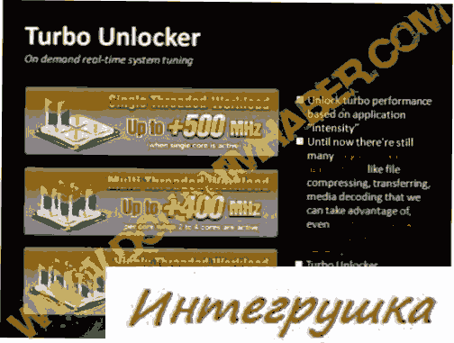 Технологии для разгона Turbo CORE и Turbo Unlocker