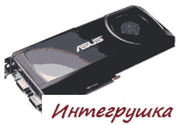 Версия видеокарты Asus GeForce GTX 580 с технологией Voltage Tweak