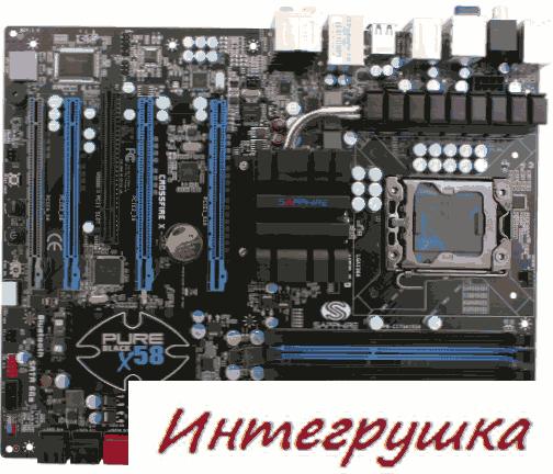 Материнская плата Sapphire Pure Black P67 Hydra