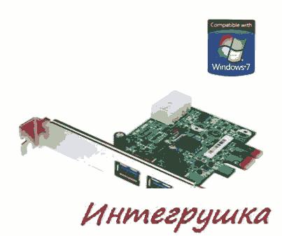 USB 3.0 карта от Transcend с интерфейсом PCI Express 2.0