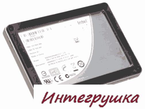 Твердотельный строгий диск Intel X25-V