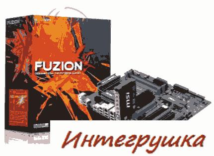 MSI Big Bang Fuzion материнская плата для геймеров