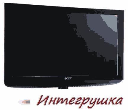 Мониторы с DVB-T HD ресивером от Acer