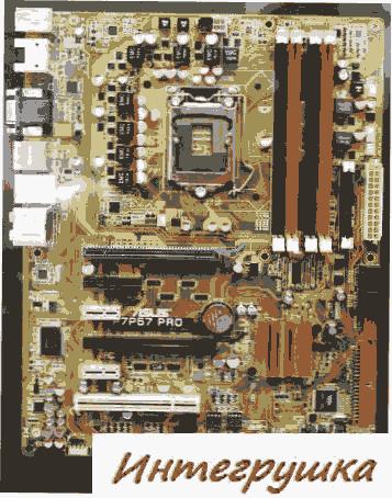 Computex 2009: Asus представили материнскую плату P7P57 PRO