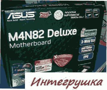 Фото материнской платы ASUS M4N82 Deluxe