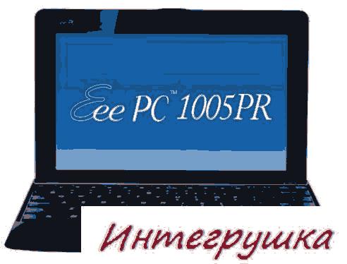 Нетбук Asus Eee PC 1005PR с поддержкой HD видео