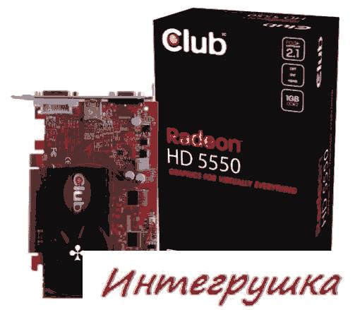 Radeon HD 5550  еще одна экономная видеокарта