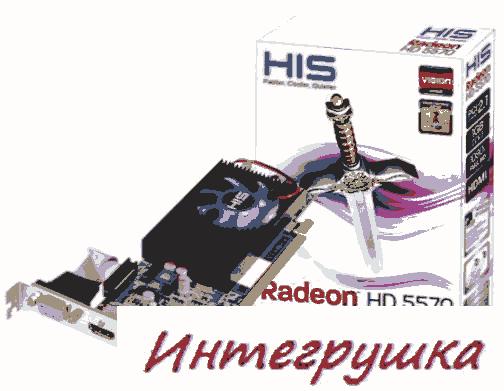 Фото видеокарт Radeon HD 5570 от различных производителей