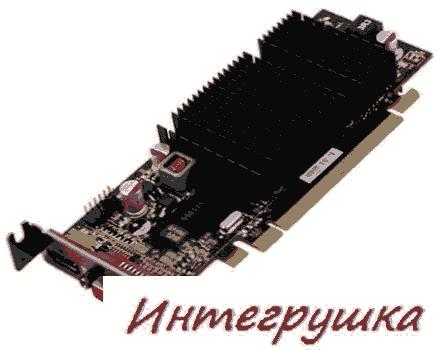 XFX Radeon HD 5450 в 4 вариантах
