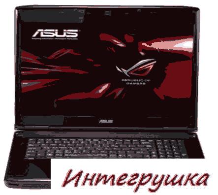 Asus G73JH-A1 игровой ноутбук с видео HD5870