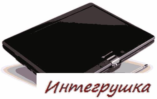 Packard Bell Butterfly Touch  нетбук с поворотным экраном