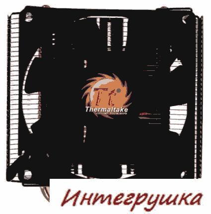 Низкопрофильный процессорный кулер Thermaltake SlimX3