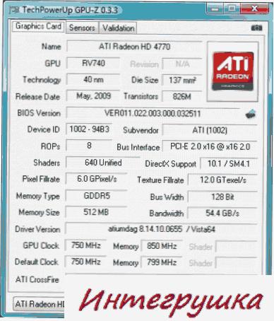 ATI Radeon HD 4770 обзор.