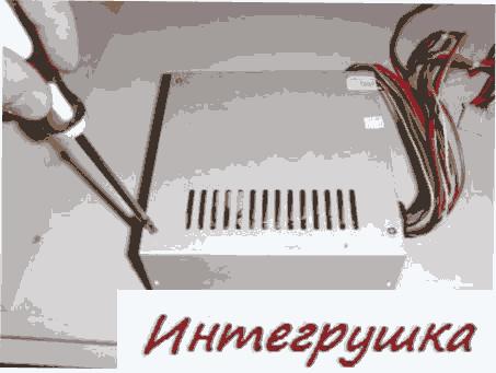 Подмена кулера в агрегате кормленья