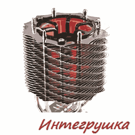 Новейший кулер для процессоров - Thermaltake SpinQ VT