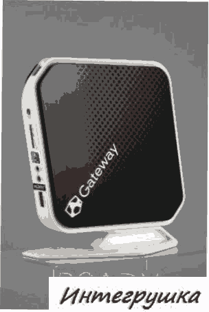 Неттоп Gateway QX2800 на платформе Nvidia ION